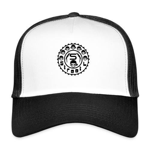 rawstyles rap hip hop logo money design by mrv - Trucker Cap