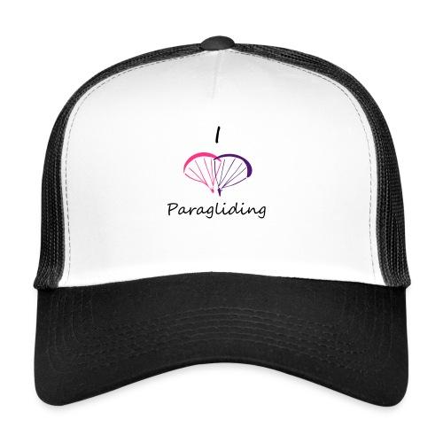 I Love Paragliding V2 - Trucker Cap