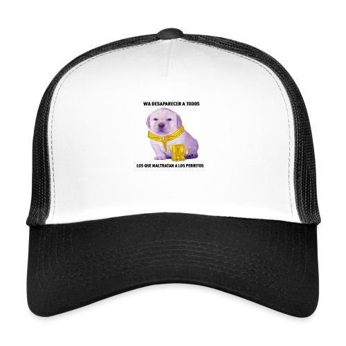 No al maltrato animal - Gorra de camionero