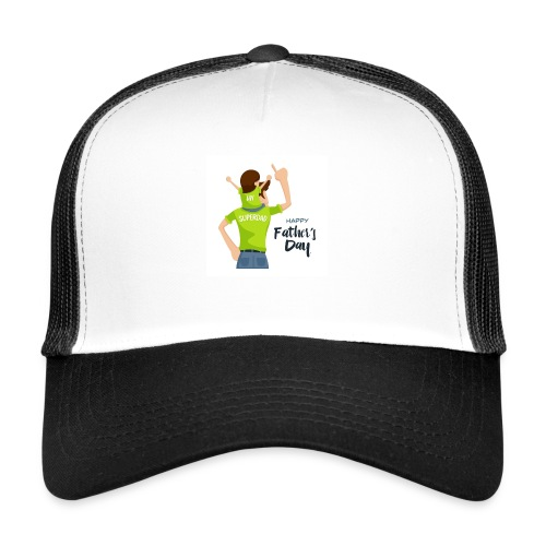 Pngtree precious happy moment with superdad 35709 - Trucker Cap