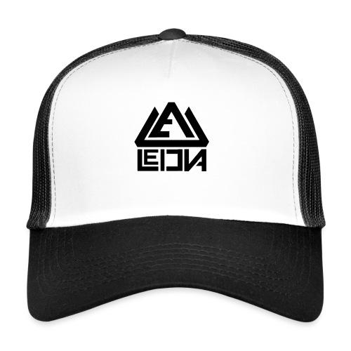 LEDUNA BLACK LOGO - Trucker Cap