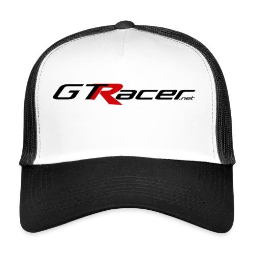 gtr stickertransblack - Trucker Cap