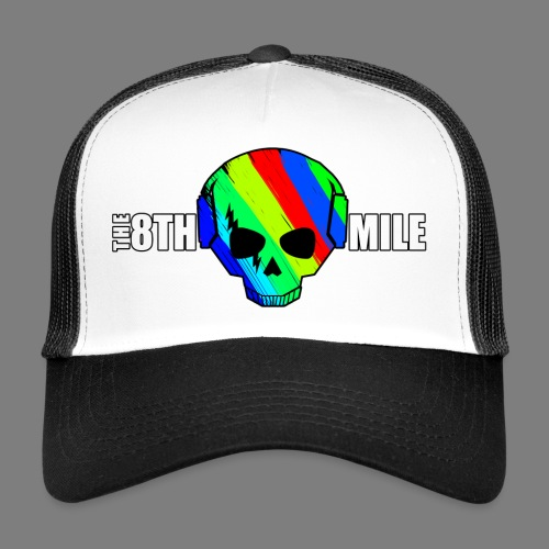 Colorful Skull Logo - Trucker Cap