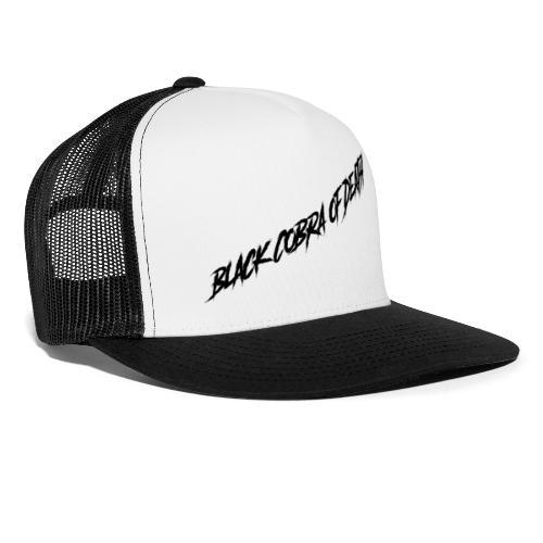 Black Cobra of Death - Trucker Cap