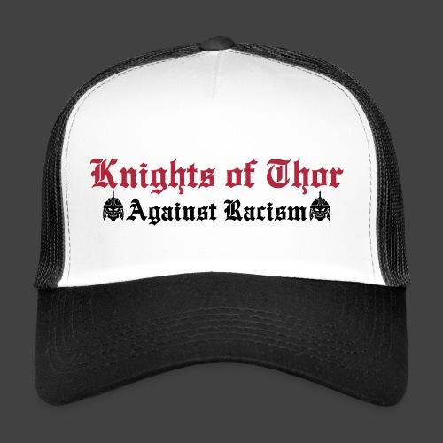 kot against - Trucker Cap