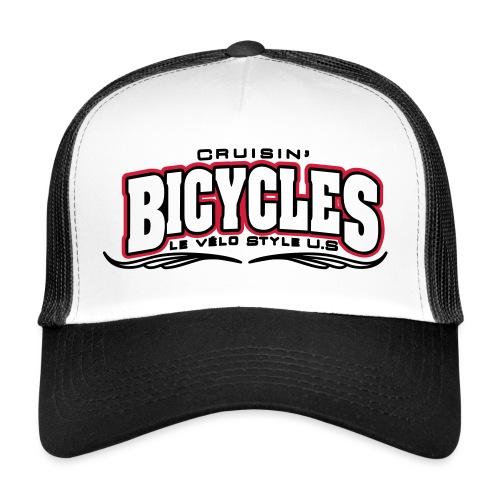 logo cruisin bicycles chris3 - Trucker Cap
