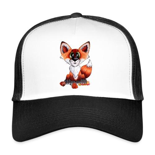 llwynogyn - a little red fox - Trucker Cap