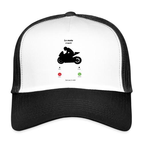 Ma moto m'appelle - Trucker Cap