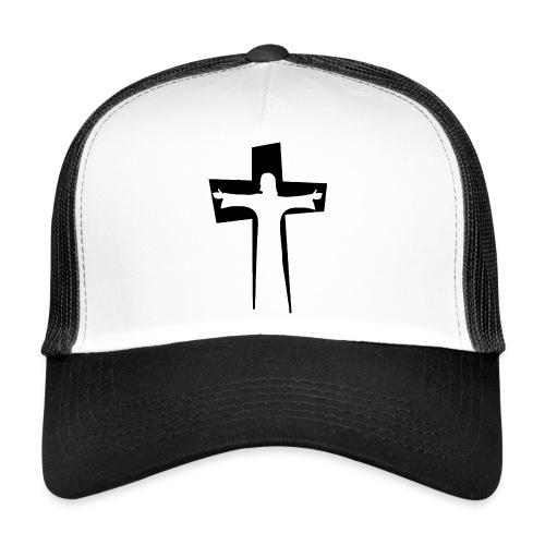 Abstrakt Jesus på korset - Trucker Cap
