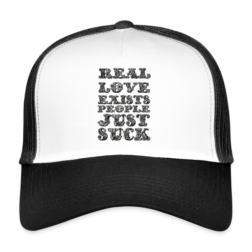 Real Love Exists REBEL INC. - Trucker Cap