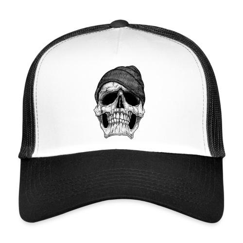 Back Hoodie - Trucker Cap
