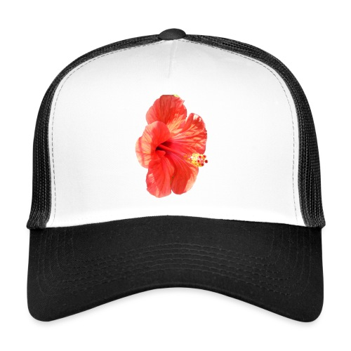 A red flower - Trucker Cap