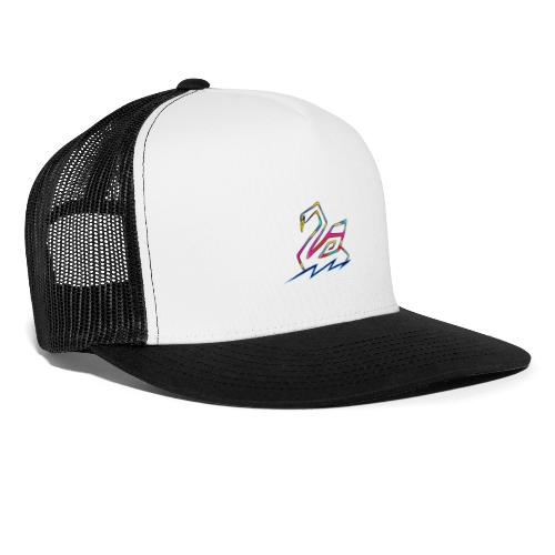 cigno multicolore - Trucker Cap