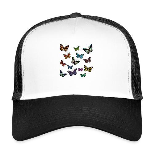 Butterflies flying - Trucker Cap