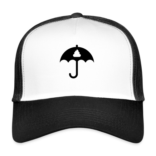 Shit icon Black png - Trucker Cap