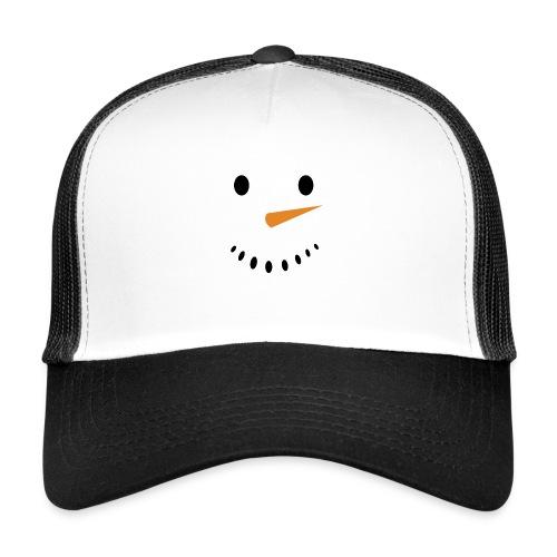 Bonhomme de neige Noël Hiver - Trucker Cap