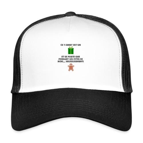 T-shirt cadeau de Noël - Trucker Cap