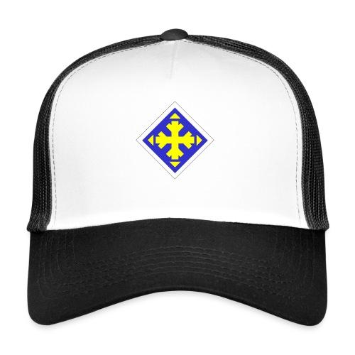 Mäksäreppu, vaalean sininen - Trucker Cap