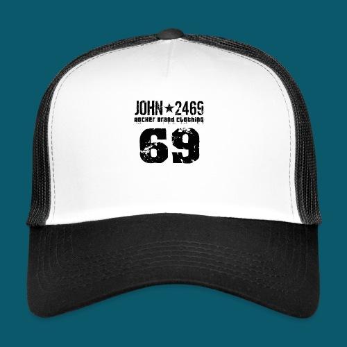 john 2469 numero trasp per spread nero PNG - Trucker Cap