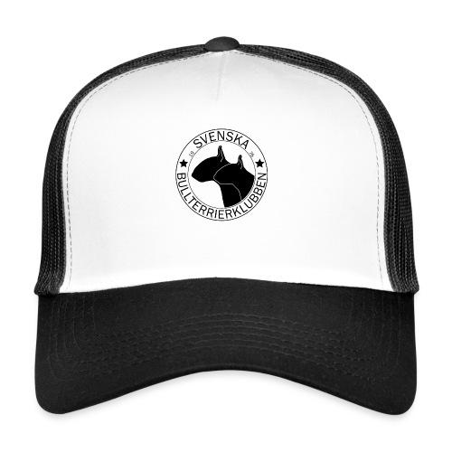 Stor svart SvBtk logga - Trucker Cap