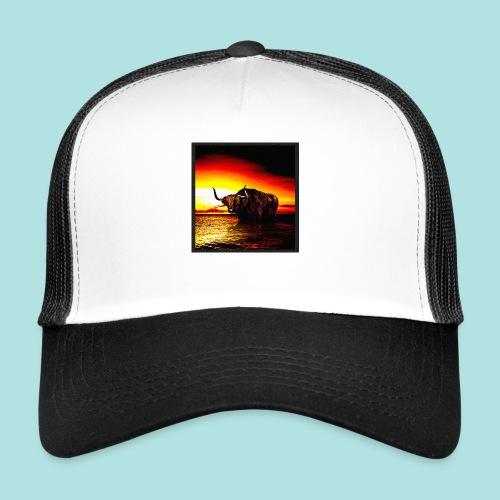 Wandering_Bull - Trucker Cap
