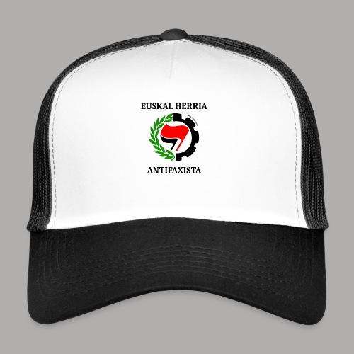 EH antifaxista pour fond clair - Trucker Cap