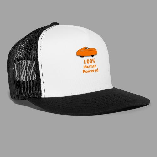 100% human powered - Trucker Cap