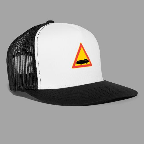 Traffic sign velomobile - Trucker Cap