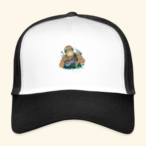 Gorilla Jungle Hiphop - Gorra de camionero