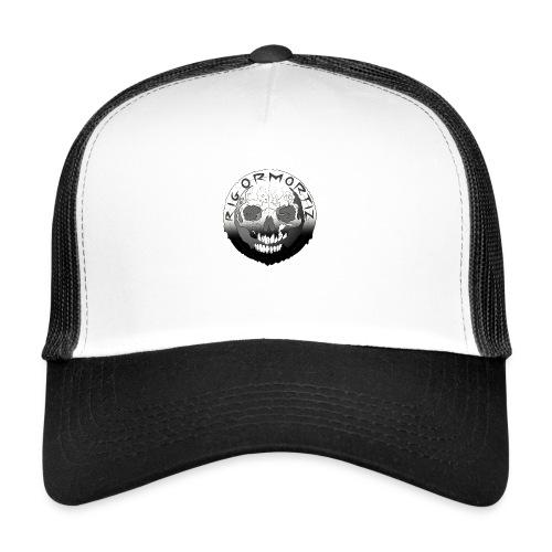 Rigormortiz Black White Design - Trucker Cap