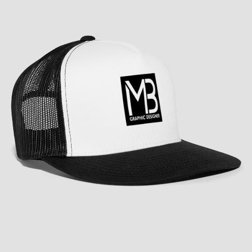 Logo MB Graphic Designer Black - Trucker Cap