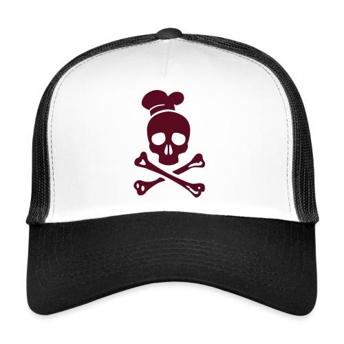 cannibal cook vector - Trucker Cap