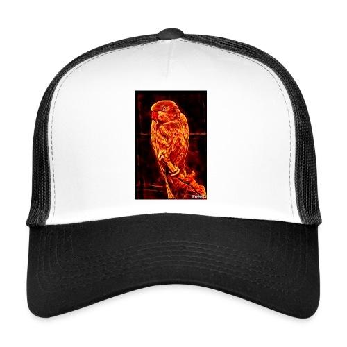 Bird in flames - Trucker Cap