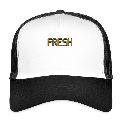 Limited Edition Fresh (Gold) Design - Trucker Cap