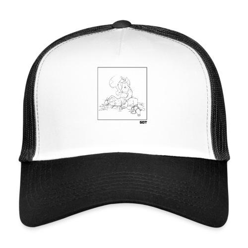 pig butcher noir - Trucker Cap