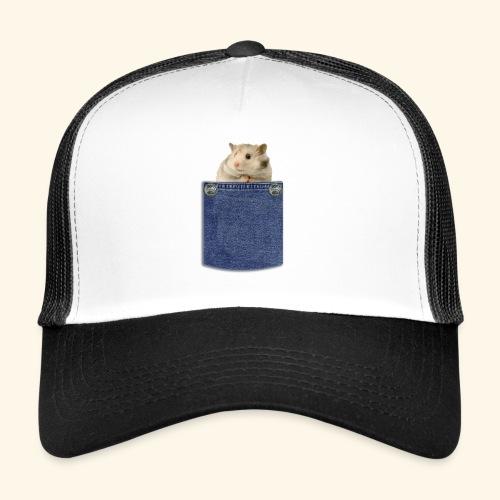 hamster in the poket - Trucker Cap