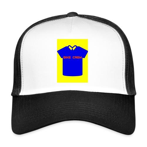 Bike Crew Merch (blau) - Trucker Cap