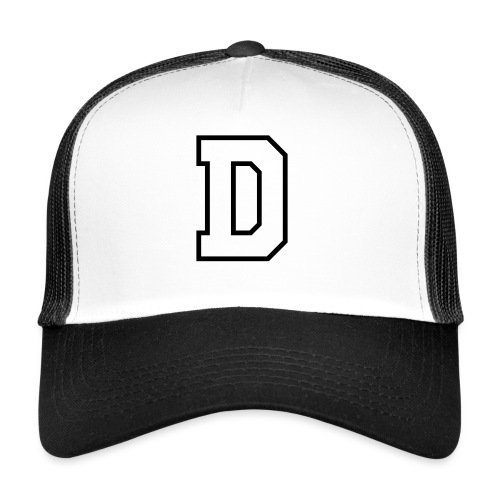 Your name start with D - Gorra de camionero