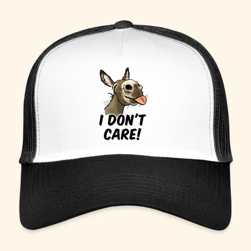Ane I don't care! (texte noir) - Trucker Cap