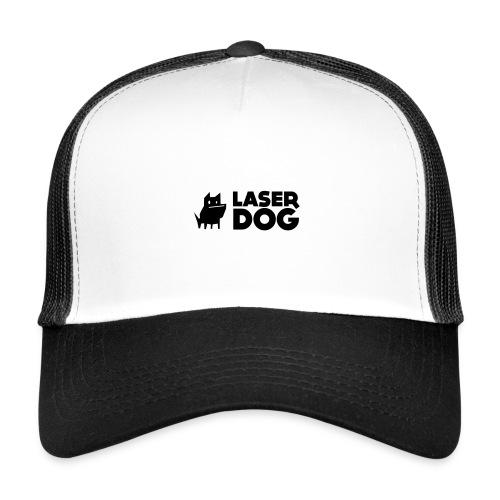 Laser Dog Logo - Trucker Cap
