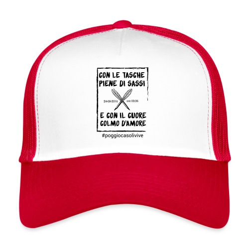 patch cuoresassi - Trucker Cap