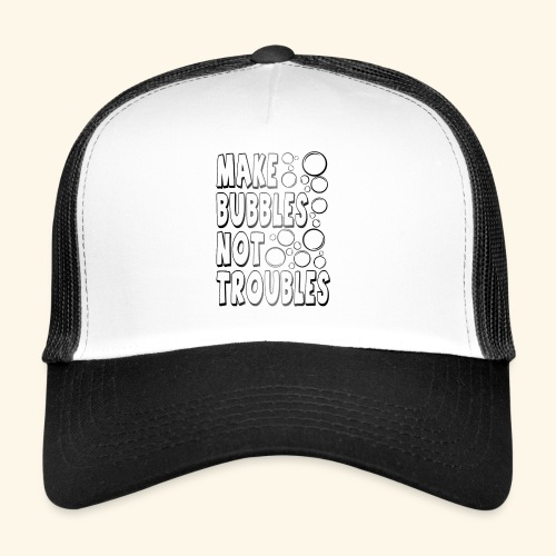 Bubbles002 - Trucker Cap