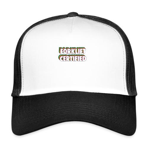 Forklift Certification Meme - Trucker Cap