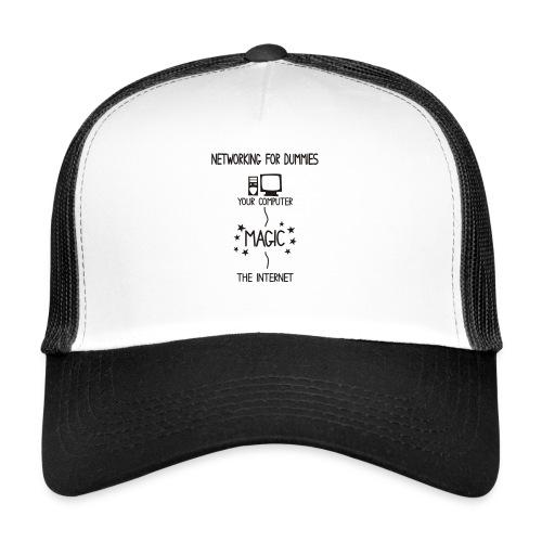 Network Schematic for Dummies - Trucker Cap