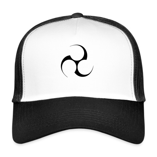 Mitsudomoe Symbol (invertiert) - Trucker Cap