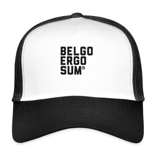 Belgo Ergo Sum - Trucker Cap