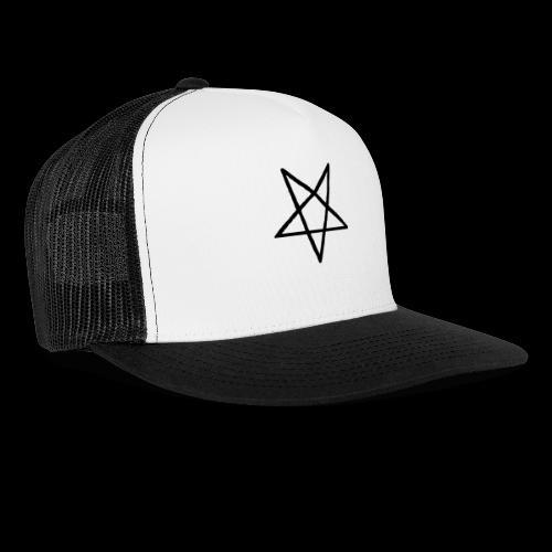 Pentagram2 png - Trucker Cap