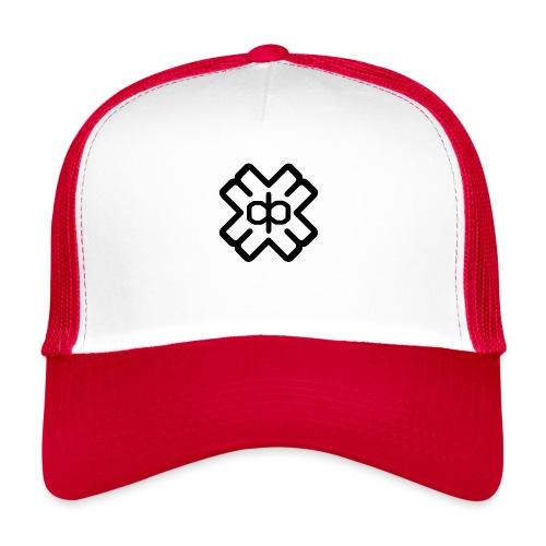 d3ep logo black png - Trucker Cap