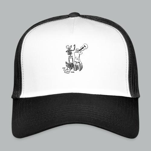 DFBM unbranded black - Trucker Cap