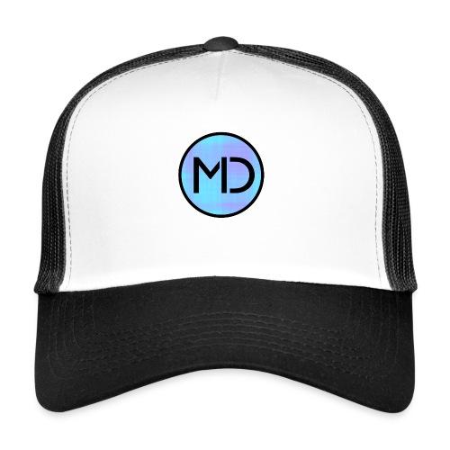 MD Blue Fibre Trans - Trucker Cap